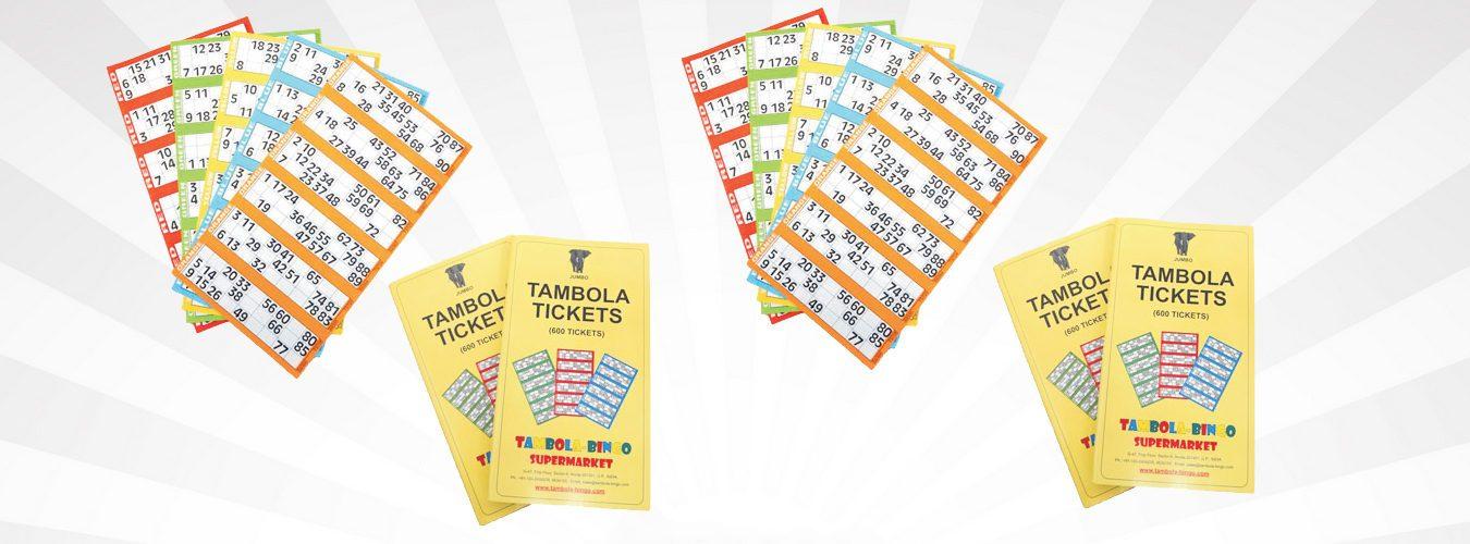 Jumbo Tambola Tickets